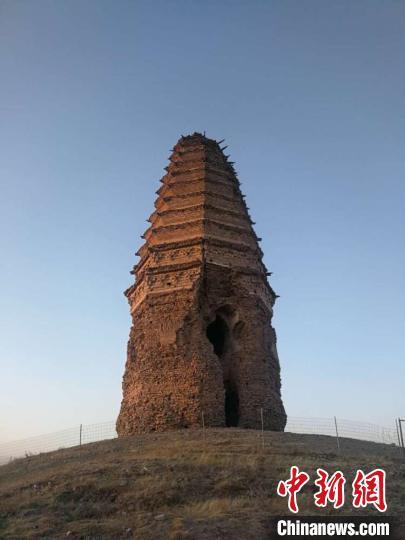 资料图:辽代白塔。内蒙古文物局供图