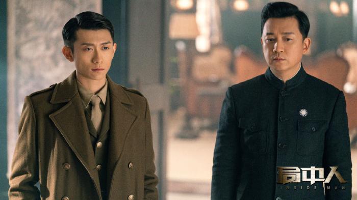 潘粤明与张一山饰演兄弟。《局中人》剧照。