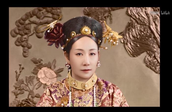 不是真的!慈禧皇太后年轻时的彩色照片被疯传