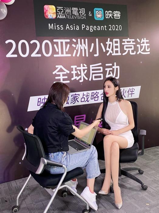 不满足才有提高 吴春怡重返映客竞选亚洲小姐