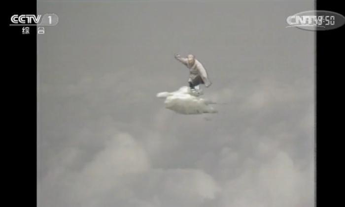 孙悟空。图片来源:82版《西游记》视频截图