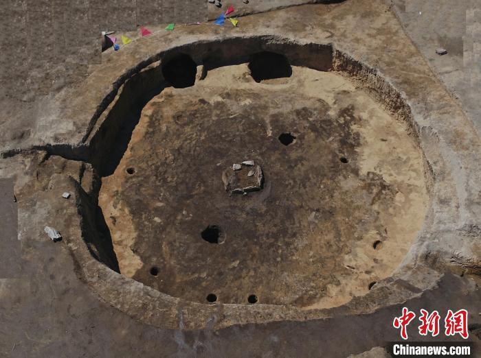 兴隆遗址典型房址结构。联合考古队供图
