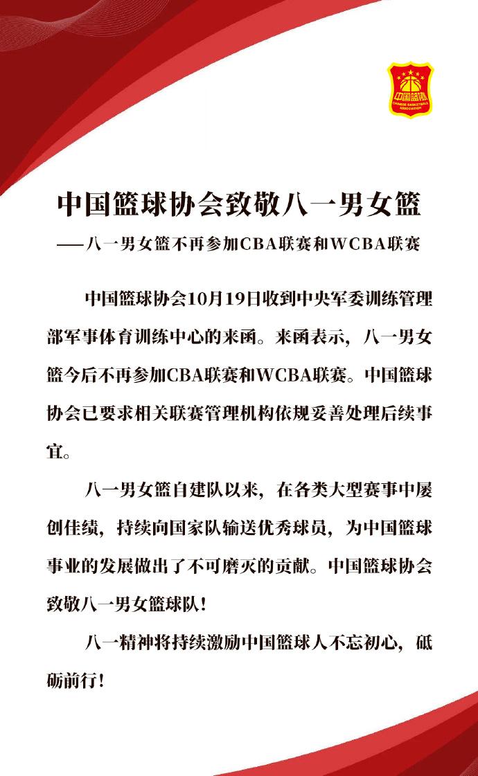图片来源:中国篮球协会官网。