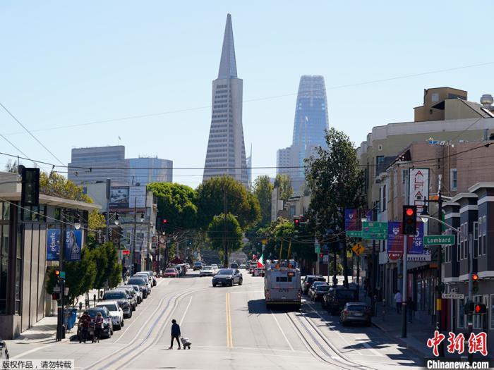 资料图:美国旧金山市泛美金字塔。