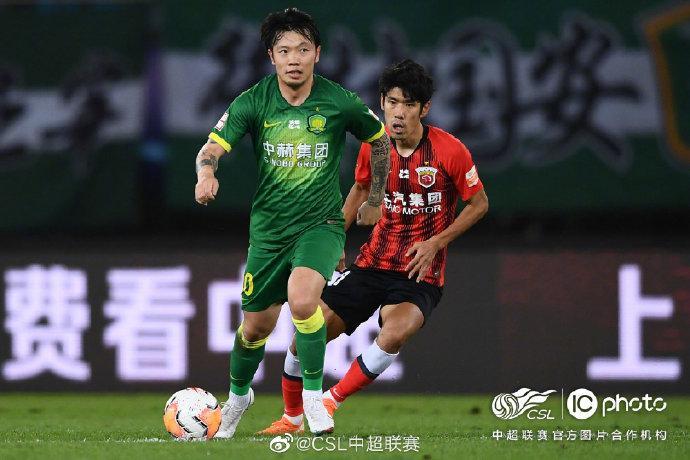 张稀哲(左)即将年满30岁。中超联赛/IC photo官方供图
