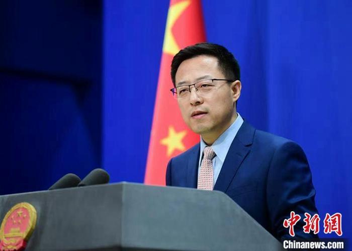 中国外交部发言人赵立坚