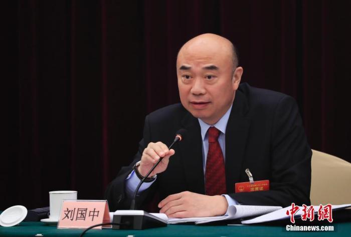资料图:刘国中。中新社记者 杜洋 摄