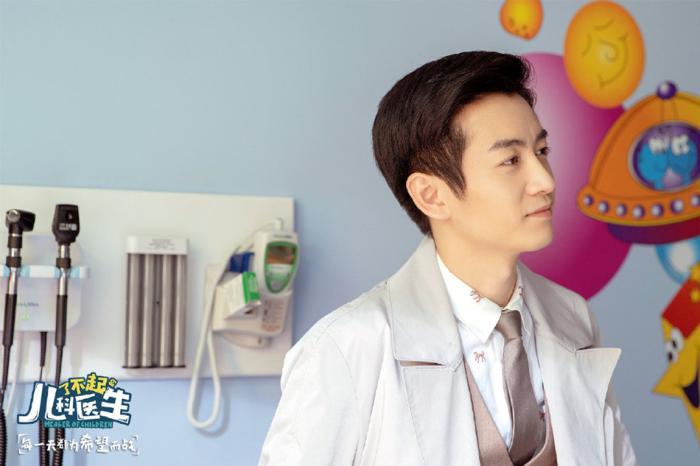 陈晓谈演儿科医生:充满压力,曾赴医院体验生活