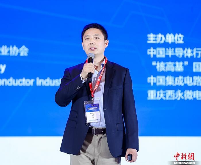赛昉科技CEO徐滔在中国集成电路设计业2020年会上做主题演讲