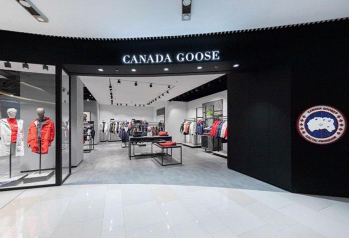 加拿大鹅羽绒服门店。 图片来源:CanadaGoose加拿大鹅官方公众号