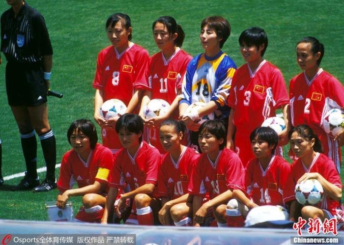 1999年世界杯决赛,中国女足出场阵容。