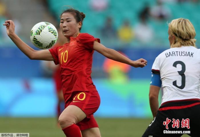 2016里约奥运女足1/4决赛,中国女足以10人对阵德国,姑娘们最终以0:1惜败德国无缘四强。