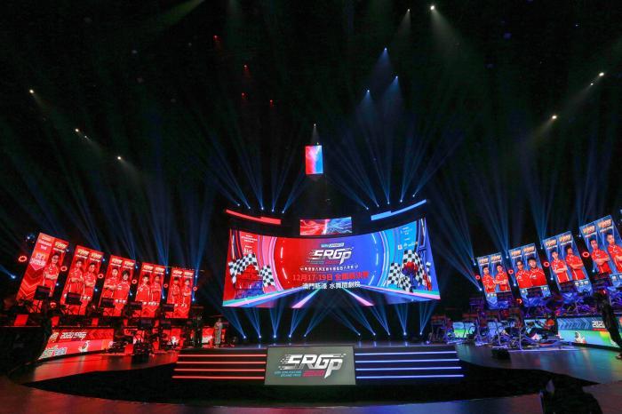 2020粤港澳大湾区赛车模拟器大奖赛总赛现场 主办方供图