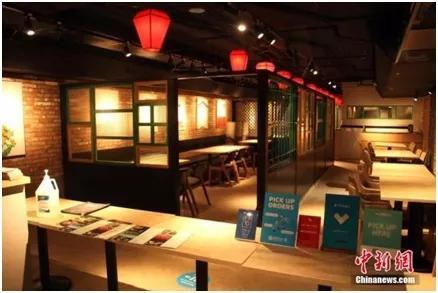 资料图:多伦多唐人街一家中餐馆。中新社记者余瑞冬摄