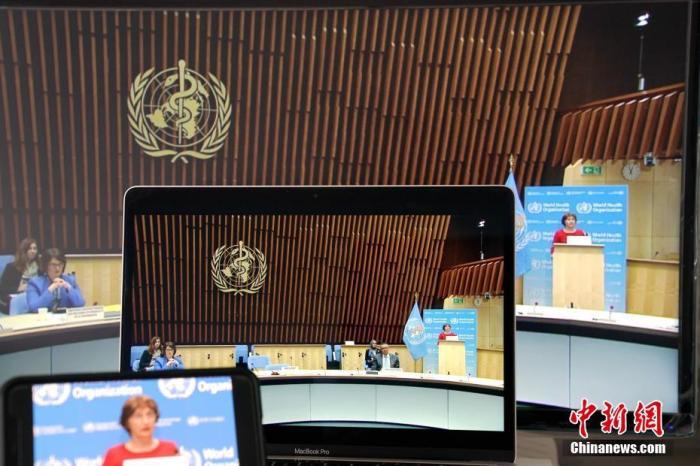 当地时间5月18日,第七十三届世界卫生大会以视频会议形式举行开幕式。<a target='_blank' href='http://www.chinanews.com/'>中新社</a>记者 彭大伟 摄