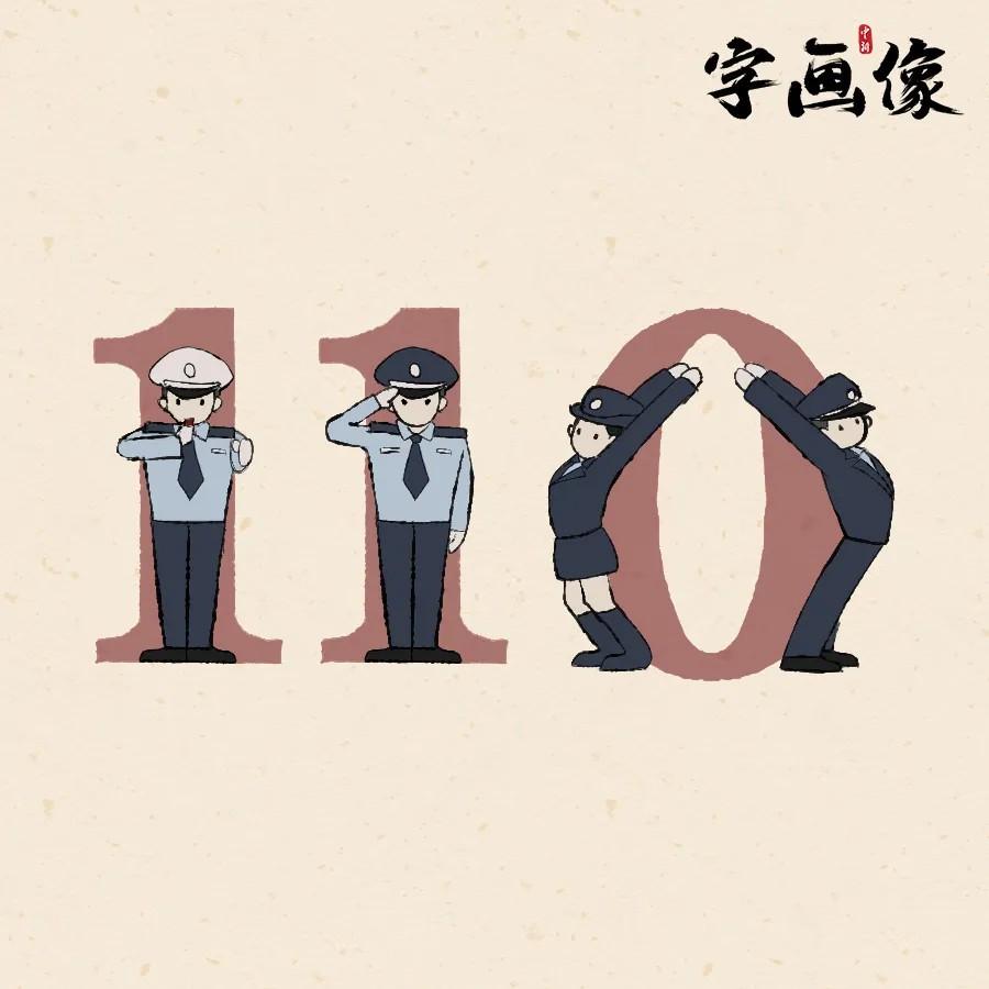 提起人民警察,你会首先想到哪个字?