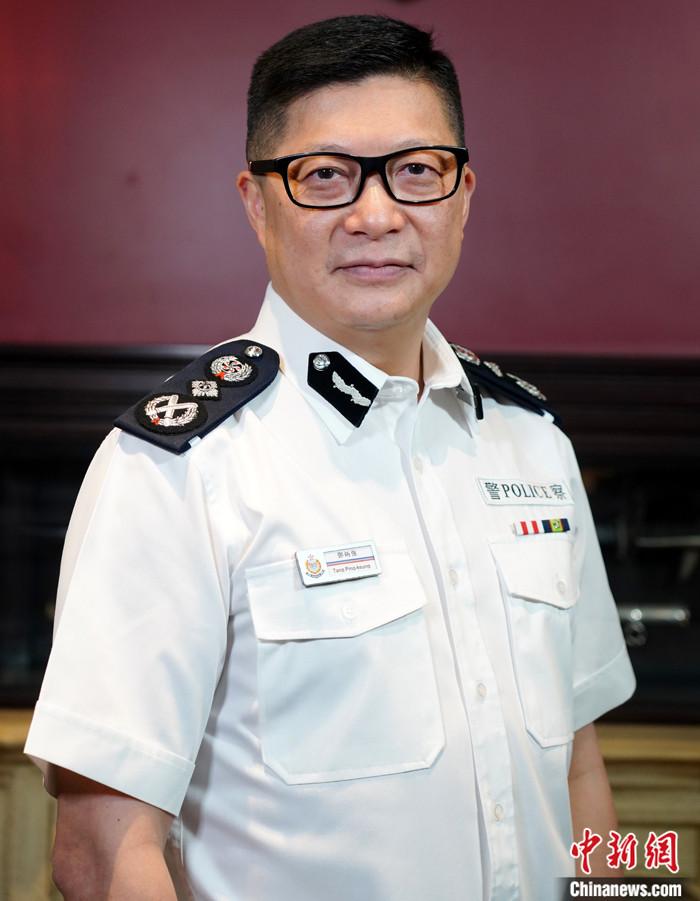 图为香港警务处处长邓炳强资料照片。 中新社记者 张炜 摄
