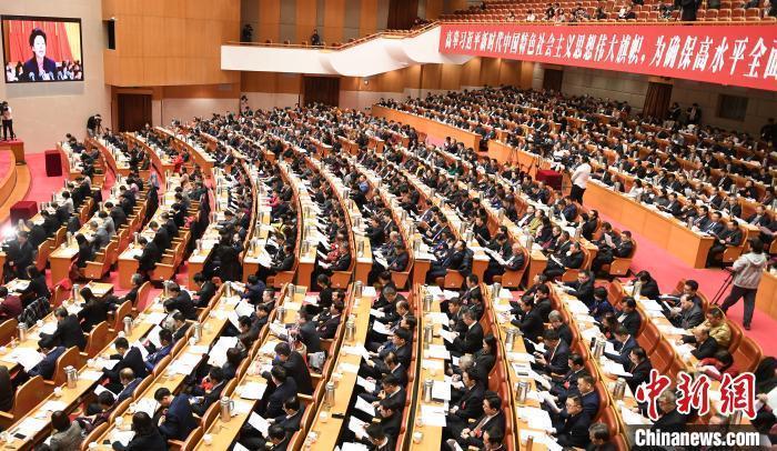 资料图: 2020年1月11日 浙江省政协十二届三次会议开幕。张茵 摄