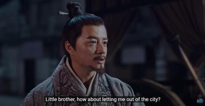 《大秦赋》海外播出视频截图