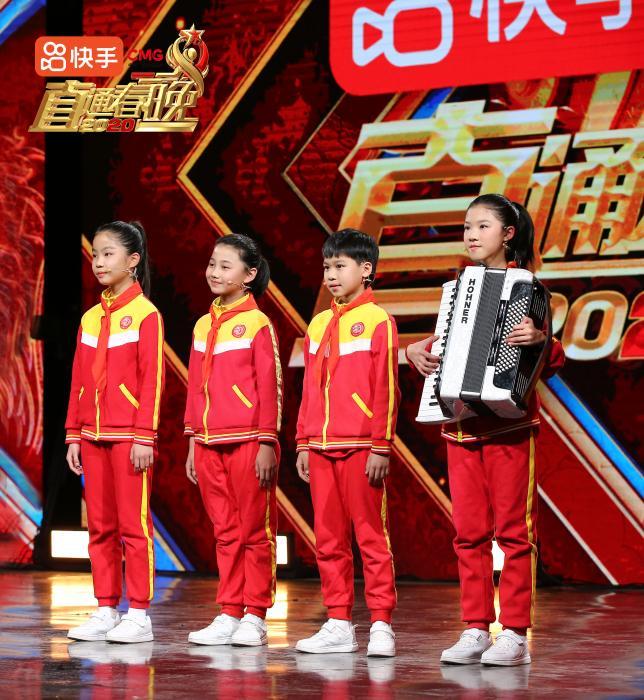 湖南祁东县启航学校儿童合唱团 节目组供图
