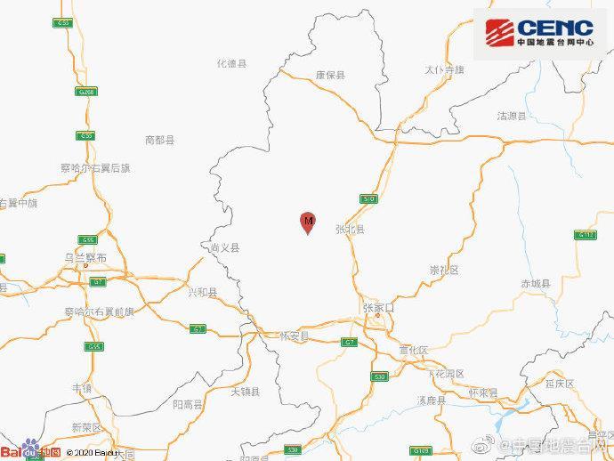 河北发生3.0级地震