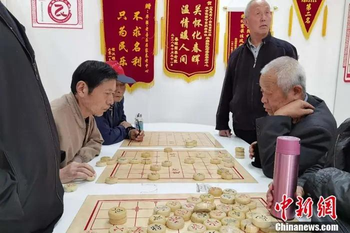 安徽芜湖华强社区老年活动中心。记者 张楷欣 摄