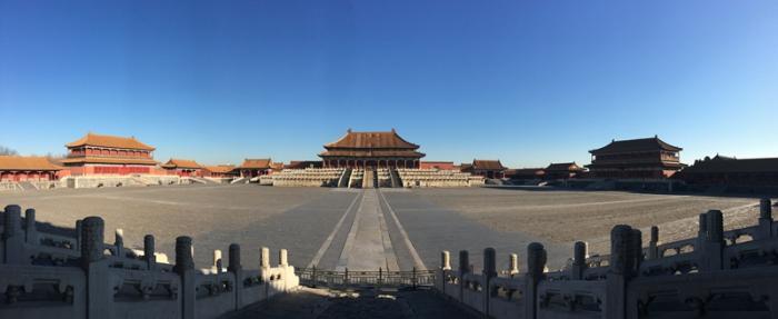 太和殿广场全景。周乾 摄