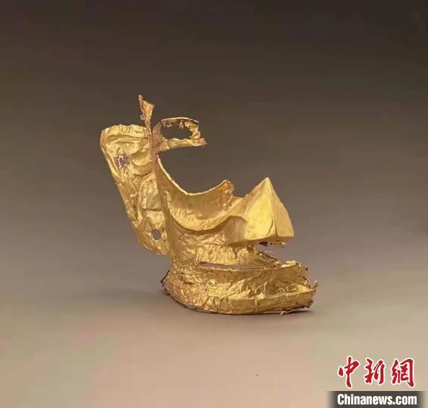爱情岛论坛影院考古人员回应三星堆金面具有耳洞:古蜀人有穿耳习惯
