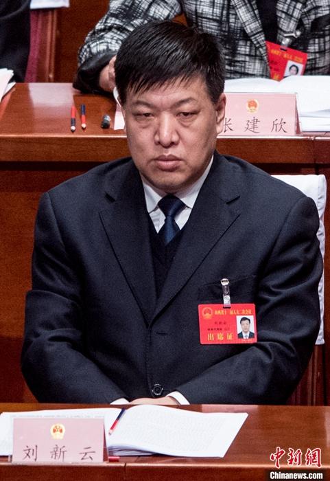 资料图为刘新云。  中新社记者 韦亮 摄