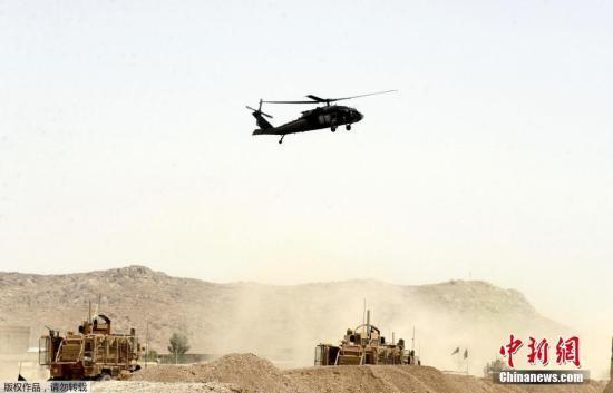 資料圖:駐阿富汗的外國軍隊。