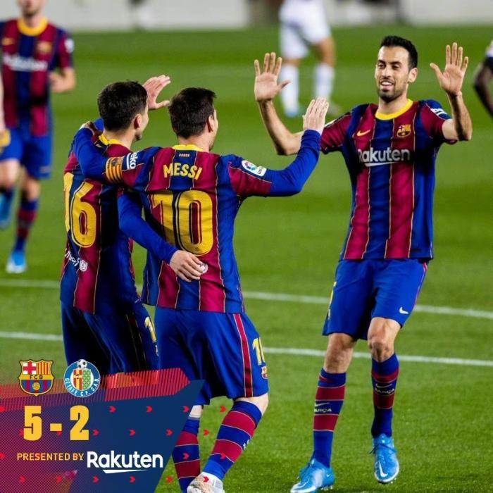 图片来源:巴塞罗那俱乐部官博。