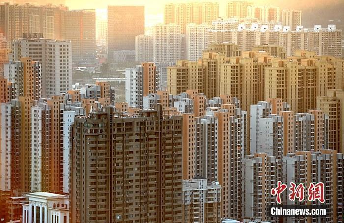 原料图:房地产楼盘。中新社记者 张斌 摄