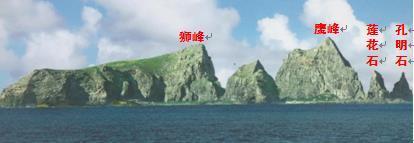 图6 北小岛现场观测照片