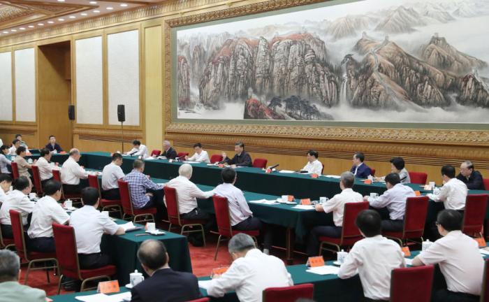 2020年9月11日,习近平在京主持召开科学家座谈会并发表重要讲话。