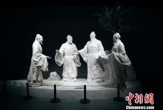 资料图:孔子博物馆展品。王飞 摄