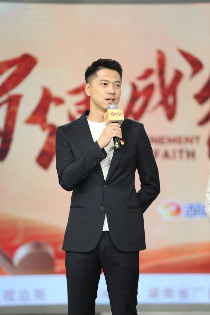 【百年大党的新生力量】二度饰演毛泽东 王雷:历史革命题材,应该一直拍下去