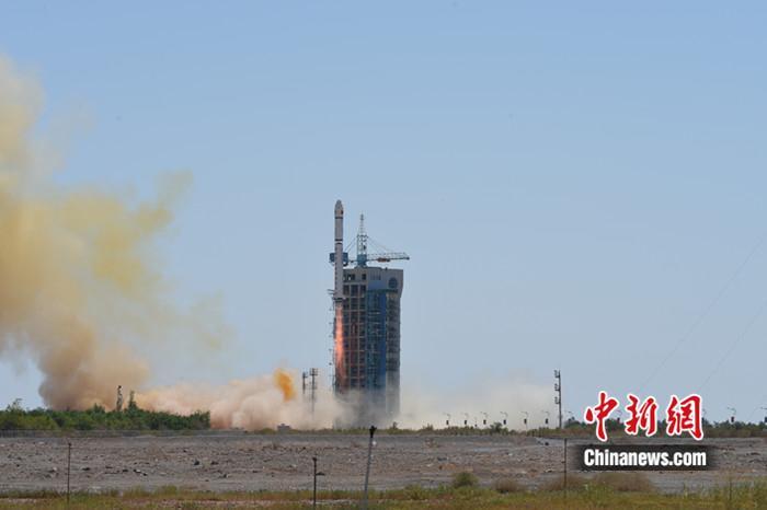 中国成功发射天绘一号04星。吴敬博 摄