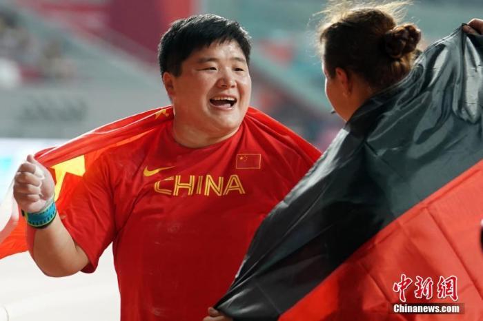多哈田径世锦赛女子铅球决赛 巩立姣夺冠