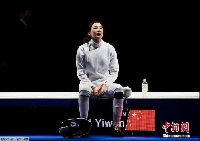 图为孙一文在比赛场馆内。<a target='_blank' href='http://www.chinanews.com/'>中新社</a>记者 富田 摄
