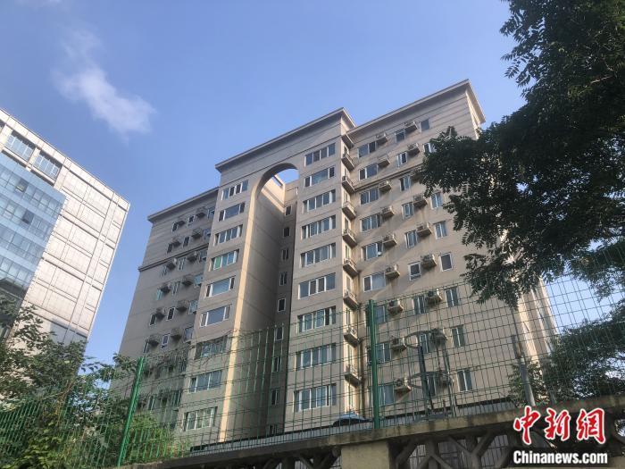 北京市西城区金融街片区一处学区房。 <a target='_blank' href='http://www.chinanews.com/' >中新网</a> 左宇坤 摄