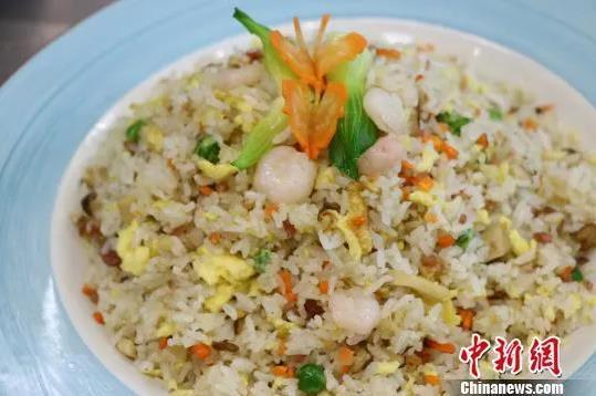 資料圖:揚州炒飯。朱安安 攝
