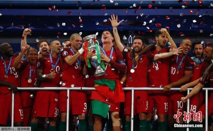 资料图:5年前,葡萄牙队收获了队史第一个欧洲杯桂冠。