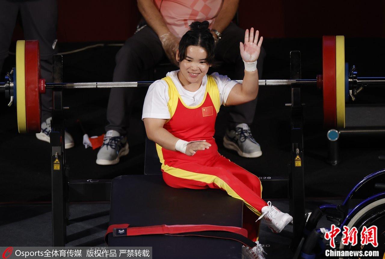 郭玲玲在比赛中。图片来源:Osports全体育图片社