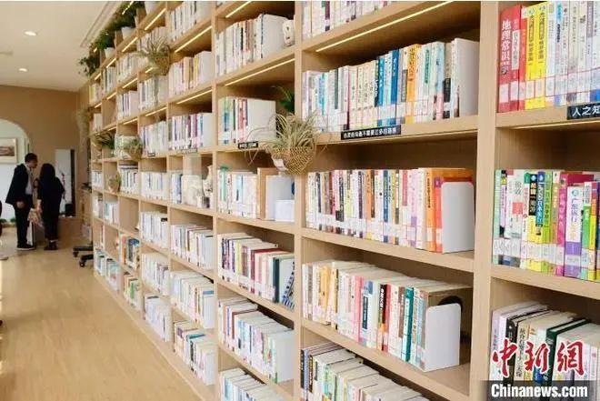 资料图:图书馆。王笈 摄