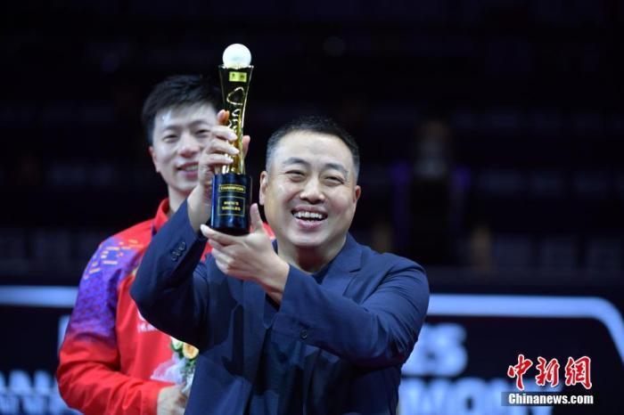 资料图:刘国梁。<a target='_blank' href='http://www.chinanews.com/'>中新社</a>记者 陈文 摄