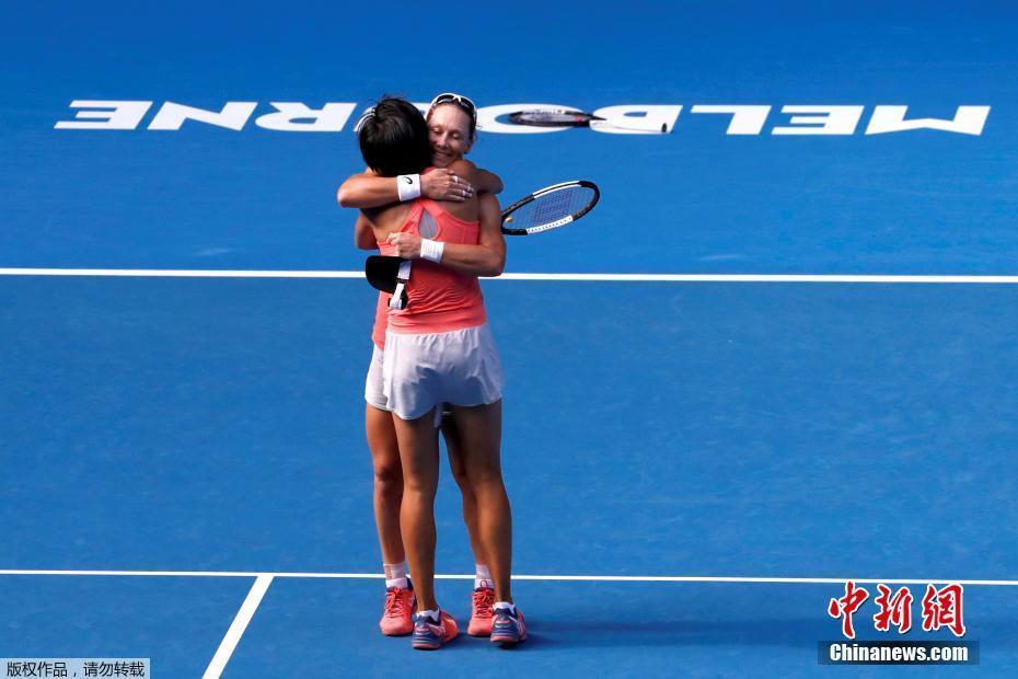 2019年澳大利亚网球公开赛,张帅组合首夺大满贯。