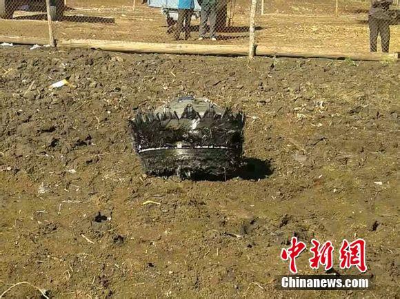 不明飞行物坠入黑龙江境内 现场已封锁