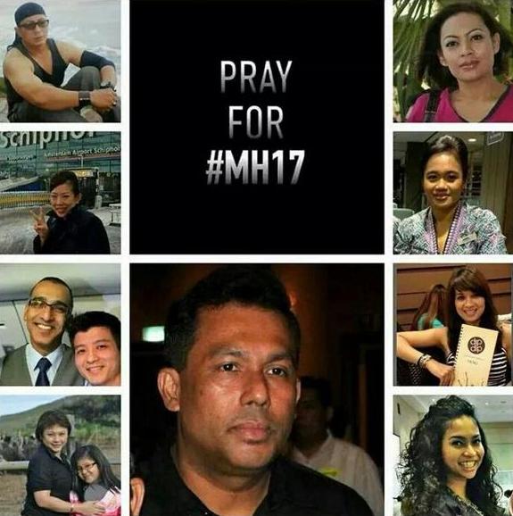 坠毁MH17航班机组人员及部分乘客照片曝光