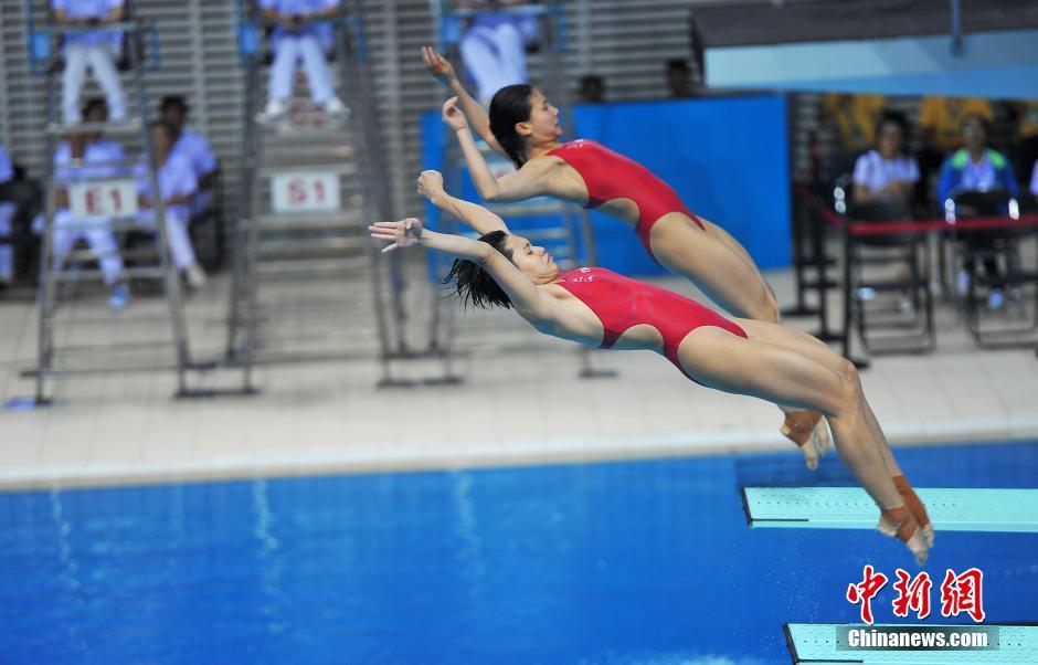 2016年全国跳水冠军赛暨里约奥运会选拔赛在南宁举行