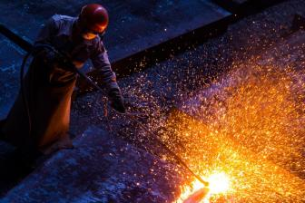 China's two major steel firms announce merger to become world's 3rd largest